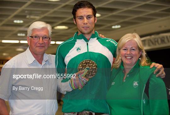 Irish team return from the european under 23 chionships in ostrava