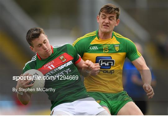 Mayo v Donegal - Allianz Football League Division 1 Round 7