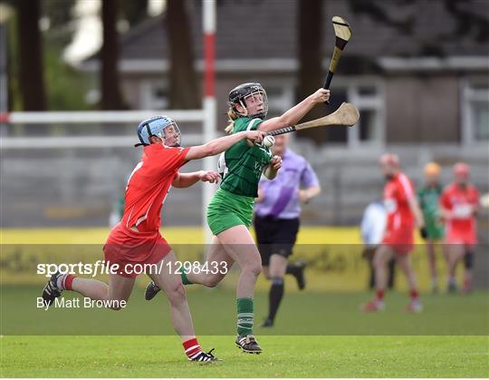 Cork v Limerick - Littlewoods National Camogie League semi-final