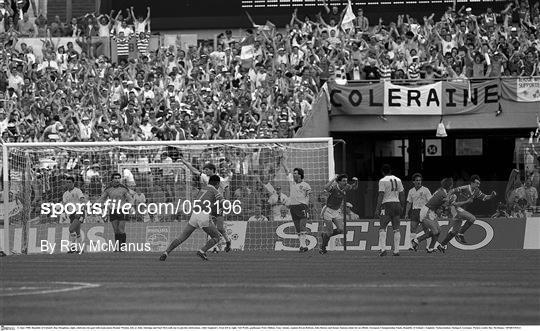England v Republic of Ireland - Euro 1988 Group B