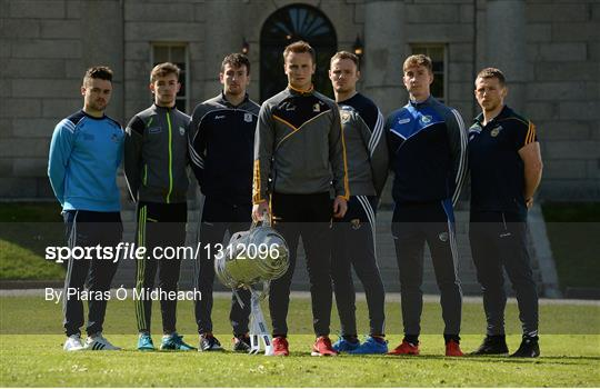 Leinster GAA Senior Hurling and Football Championships 2017 Launch