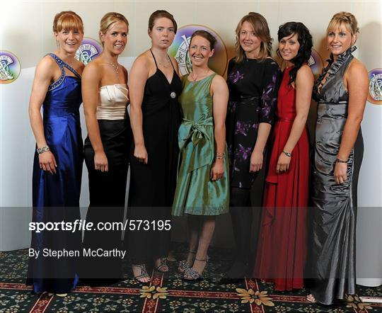 2011 Camogie All-Stars in association with O'Neills - Arrivals