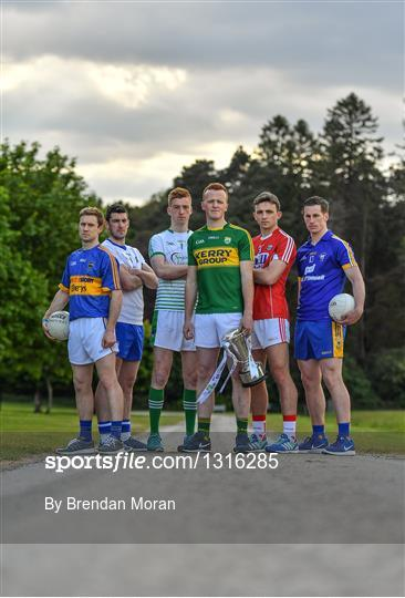 Munster GAA Senior Football & Hurling Championships 2017 launch