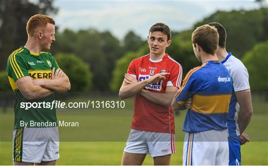 Munster GAA Senior Football & Hurling Championships 2017 launch
