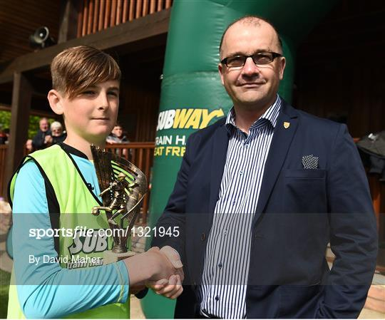 Cork Schoolboys League v Dublin District Schoolboys League - Subway SFAI U12 Final