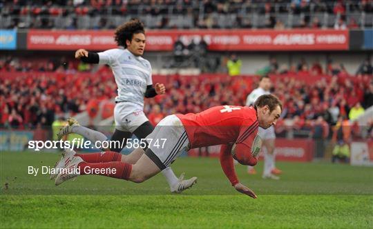 Munster v Castres Olympique - Heineken Cup Pool 1 Round 5