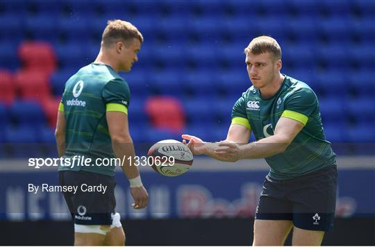 Ireland Rugby Captain's Run and Press Conference