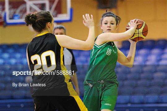 St. Angela's College, Cork v Colaiste Iosagain, Dublin - All-Ireland Schools Cup U19A Girls Final