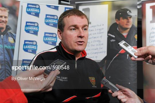 Belfast Launch of the Allianz Football Leagues 2012