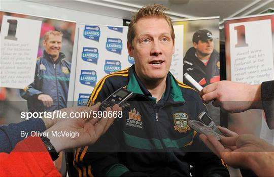 Belfast Launch of the Allianz Football Leagues 2012