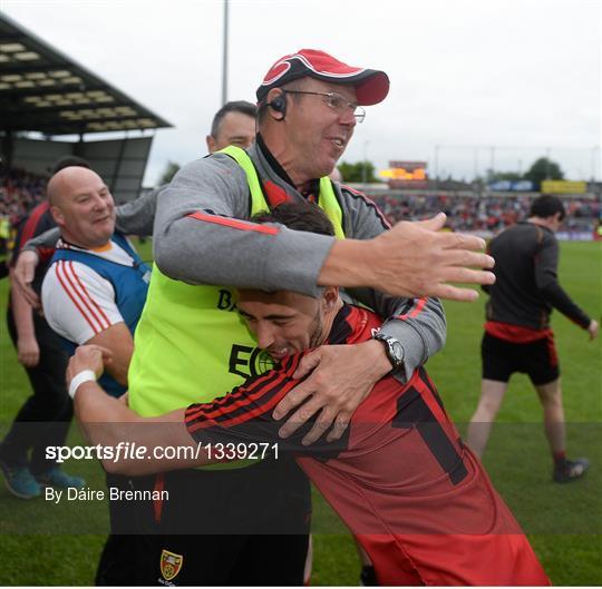 Down v Monaghan - Ulster GAA Football Senior Championship Semi-Final