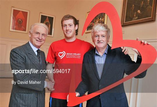 Irish Heart Foundation Photocall with Giovanni Trapattoni