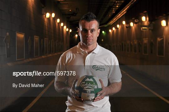 Carlsberg unveil Shay Given as new football ambassador