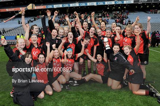 Drom/Inch, Tipperary v Oulart-the-Ballagh, Wexford - All Ireland Senior Camogie Club Championship Final 2011