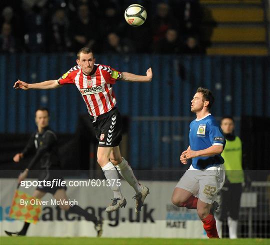 Linfield v Derry City - 2012 Setanta Sports Cup Quarter-Final 1st Leg