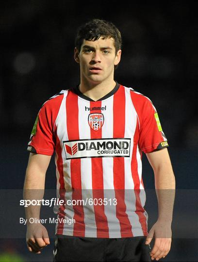 Linfield v Derry City - 2012 Setanta Sports Cup Quarter-Final 1st Leg