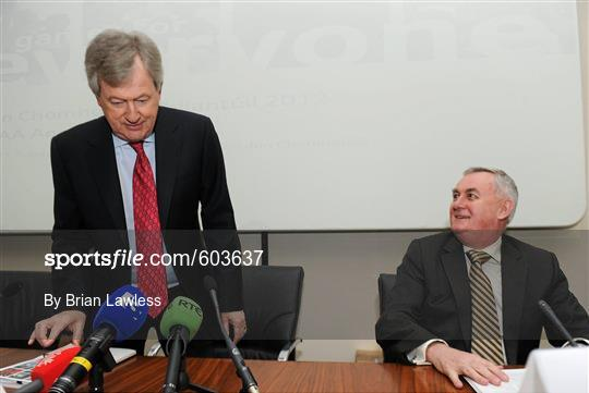 The Report of the Ard Stiúrthóir 2011