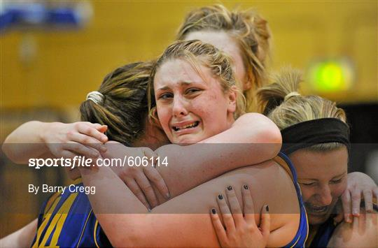 Mercy Coolock, Dublin v Christ the King, Cork - U16B Girls - All-Ireland Schools League Finals 2012