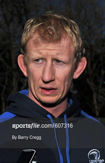 Leinster Rugby Squad Press Conference - Monday 26th March 2012