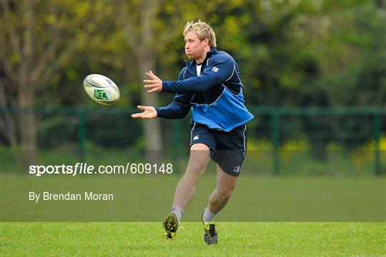 Leinster Rugby Squad Training - Monday 2nd April