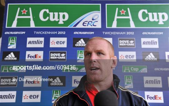 Munster Rugby Press Conference - Wednesday 4th April