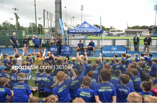 Leren Bank Summer.Bank Of Ireland Leinster Rugby Summer Camp Sportsfile