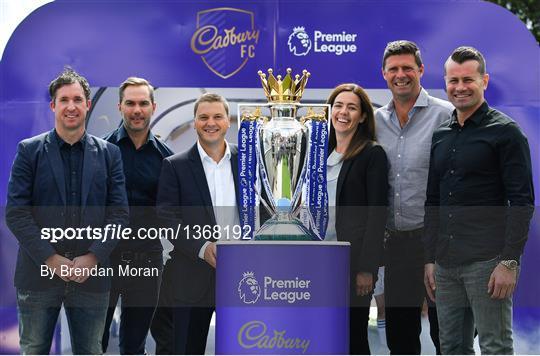Cadbury Premier League Launch