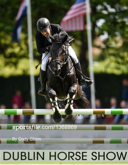 Dublin International Horse Show - Thursday