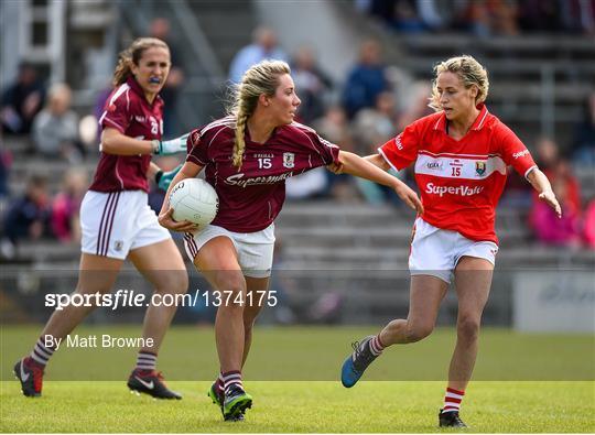 Cork v Galway - TG4 Ladies Football All-Ireland Senior Championship Quarter-Final