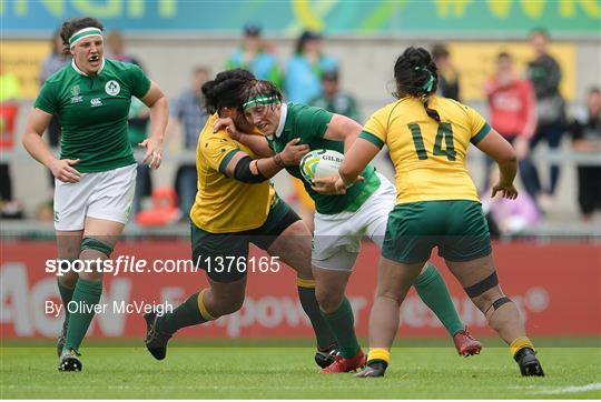 Ireland v Australia - 2017 Women's Rugby World Cup 5th Place Semi-Final