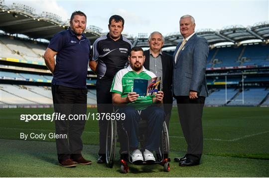 GAA M. Donnelly Wheelchair Hurling Rulebook