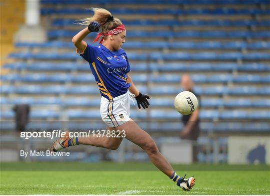 Meath v Tipperary - TG4 Ladies Football All-Ireland Intermediate Championship Semi-Final