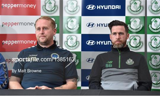 Shamrock Rovers and Bluebell United FAI Cup Press Conference