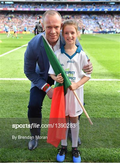 eir Flagbearers at Dublin v Mayo - GAA Football All-Ireland Senior Championship Final