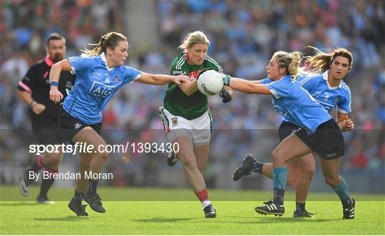 Dublin V Mayo Tg4 Ladies Football All Ireland Senior Championship Final 1393430 Sportsfile
