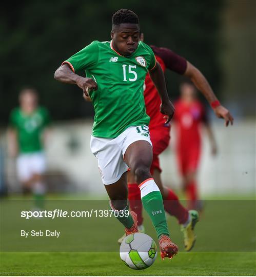 Republic of Ireland v Azerbaijan -  UEFA European U19 Championship Qualifier