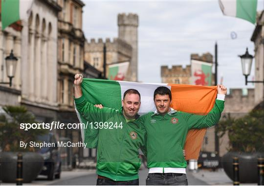 Republic of Ireland Supporters in Cardiff
