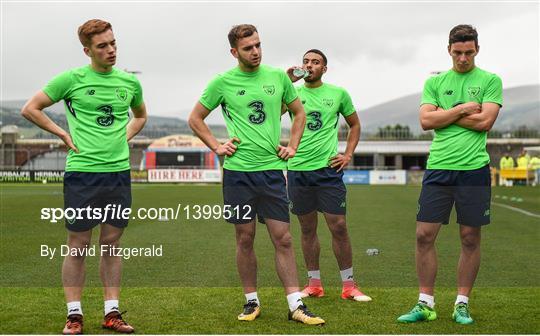 Republic of Ireland U21 Squad Training