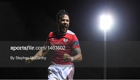 St Patrick's Athletic v Cork City - SSE Airtricity League Premier Division