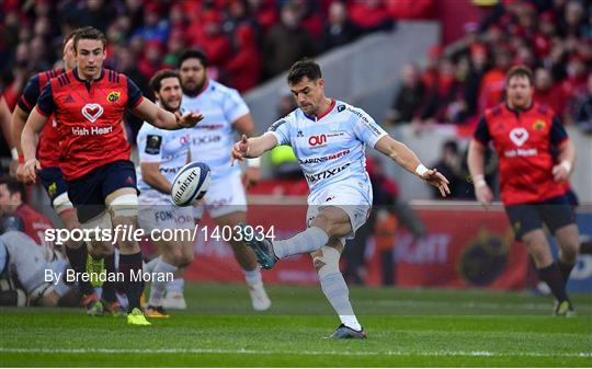 Munster v Racing 92 - European Rugby Champions Cup Pool 4 Round 2