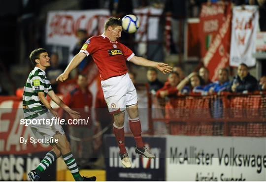 Shelbourne v Shamrock Rovers - FAI Ford Cup Quarter-Final