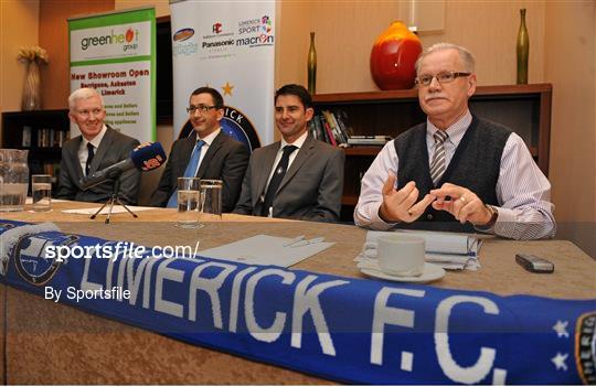 Stuart Taylor Locoblade Extras: Limerick FC Introduce New Manager Stuart