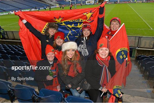 Edinburgh v Munster - Heineken Cup Pool 1 Round 5