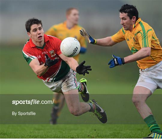Leitrim v Mayo - Connacht FBD League Section B