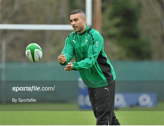 Ireland Rugby Squad Training - Friday 8th February