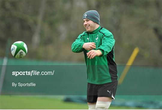 Ireland Rugby Squad Training - Friday 8th February