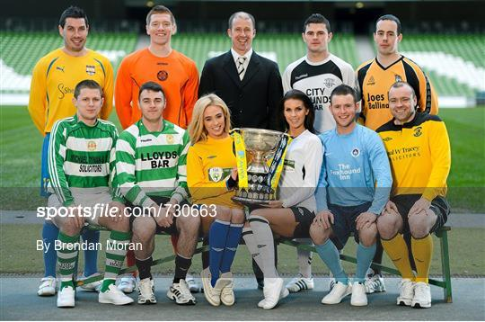 Photocall ahead of FAI Junior Cup Quarter-Final with Aviva and Umbro