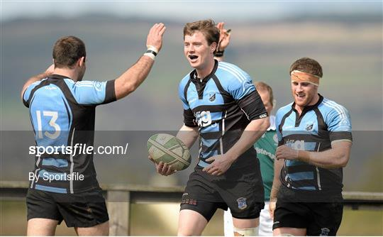 Shannon v Lansdowne - Ulster Bank League Division 1A