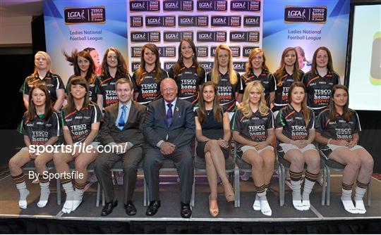 2013 TESCO HomeGrown Ladies National Football Team of the League Presentations